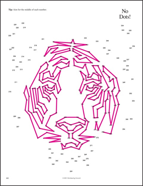 Monkeying Around's The Greatest Dot-to-Dot Book in the World: Book 2