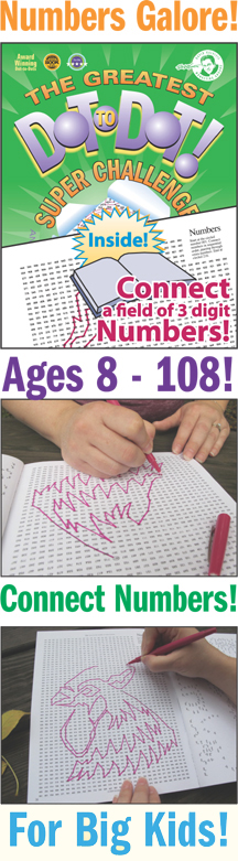 The Greatest Dot-to-Dot Super Challenge Book 7
