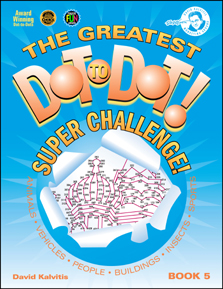 The Greatest Dot-to-Dot Super Challenge Book 5 New Front Cover